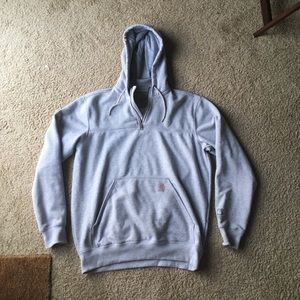 Carhartt Heavyweight Hooded Sweatshirt - L TALL
